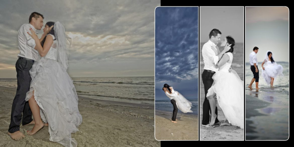 Album foto Trash The Dress – Luminita & Petre